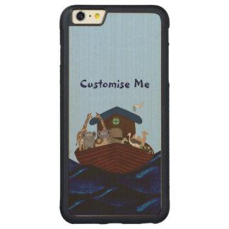 Noah's Ark Carved® Maple iPhone 6 Plus Bumper Case