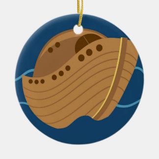 Noahs Ark Ceramic Ornament