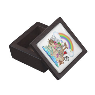 Noah's Ark Ceramic Tile Gift Box Premium Gift Box