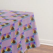 Noah's Ark (checked) Tablecloth
