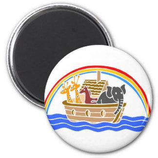 Noah's ark Christian artwork_4 Magnets