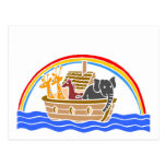 Noah's ark Christian artwork_4 Postcards