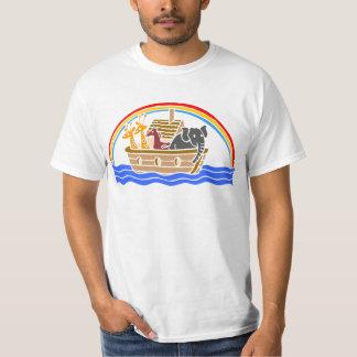 Noah's ark Christian artwork_4 T-Shirt