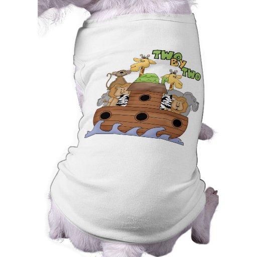 Noah's Ark Christian Gift Doggie Tee Shirt