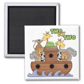 Noah's Ark Christian Gift Fridge Magnet