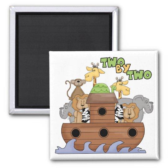 Noah's Ark Christian Gift Magnet