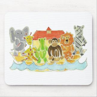 Noah's Ark Critters Mouse Pad
