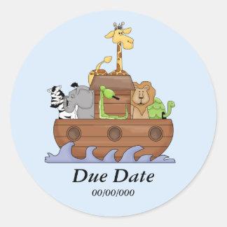 Noah's Ark Customizable Sticker