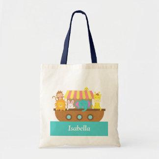Noah's Ark, Cute Animals for kids Tote Bag