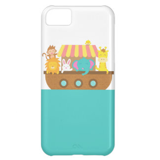 Noah's Ark, Cute Animals on Vessel iPhone 5C Cover