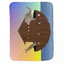 Noah's Ark Double-Sided Blanket
