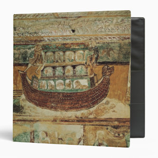 Noah's Ark During the Flood, c.1100 3 Ring Binder