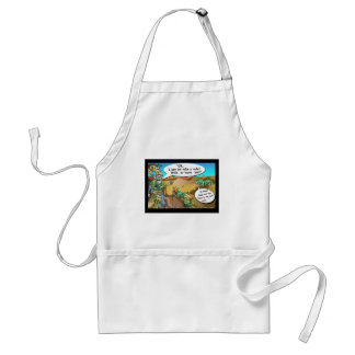 """""""Noah's Ark"""" Funny Cartoon Tees Gifts Collectibles Adult Apron"""