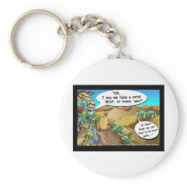 """Noah's Ark"" Funny Cartoon Tees Gifts Collectibles Keychain"