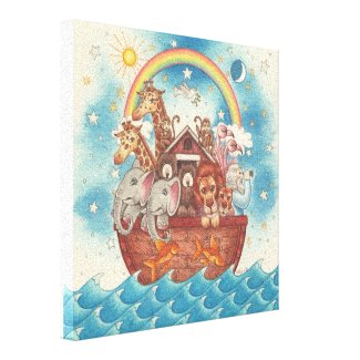 Noah's Ark ~ Gallery Wrapped Canvas wrappedcanvas