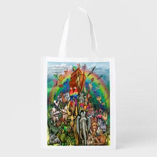Noah's Ark Grocery Bag