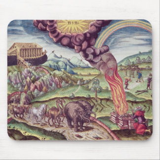 Noah's Ark, illustration from 'Brevis Narratio' Mouse Pad