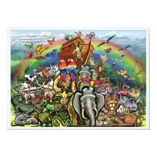 Noah's Ark Invitation