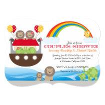 Noah's Ark Invitation - Couples Baby Shower