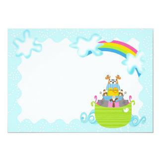 Noah's Ark Invitations - Whimsy