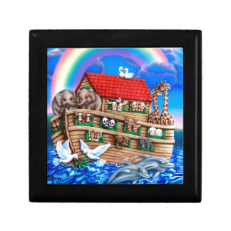 Noah's Ark Jewelry Box
