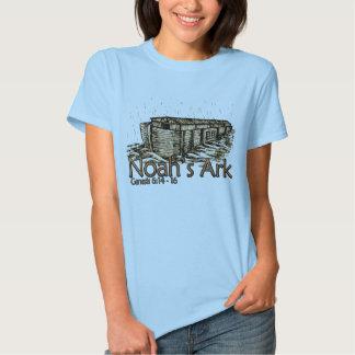 Noah's Ark Ladies Baby Doll T Shirt