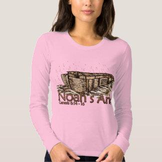 Noah's Ark Ladies Long Sleeve T Shirt