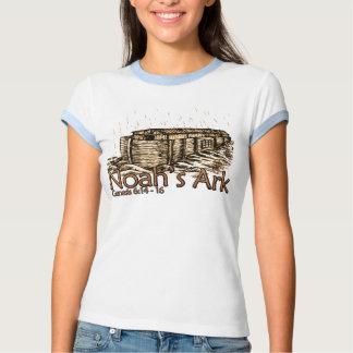 Noah's Ark Ladies Ringer T-Shirts