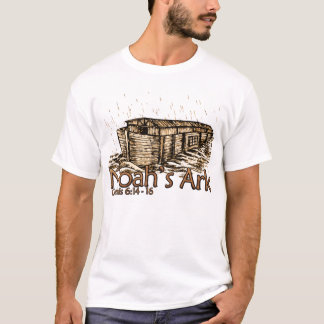 Noah's Ark Ladies Tonal Stripe T-Shirts