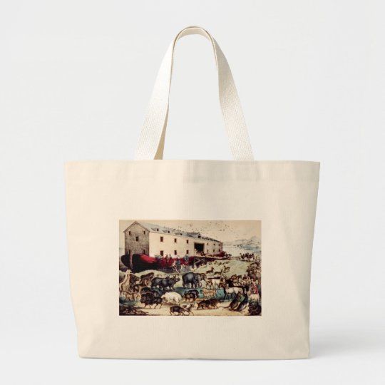 Noahs Ark Large Tote Bag