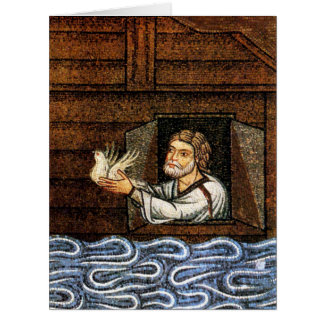Noah's Ark Mosaic - Circa 1200 - Artist Unknown Card