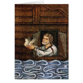 Noah's Ark Mosaic - Circa 1200 - Artist Unknown Card