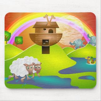 Noahs Ark Mouse Pad