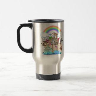 Noahs Ark 15 Oz Stainless Steel Travel Mug