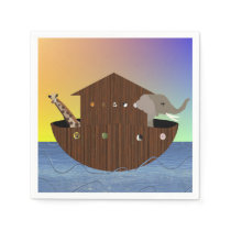 Noah's Ark napkins