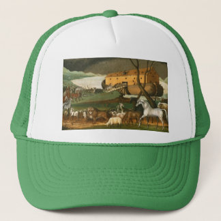 Noah's Ark - Painting by Edward Hicks - 1846 Trucker Hat