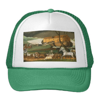 Noah's Ark - Painting by Edward Hicks - 1846 Trucker Hat