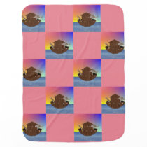 Noah's Ark Patterned Blanket