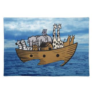 Noah's Ark Place Mats