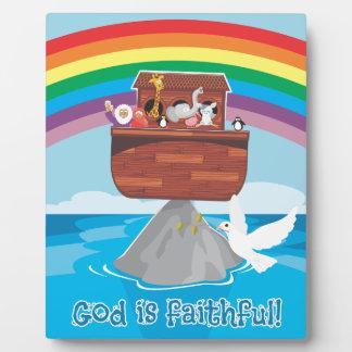 Noah's Ark Photo Plaques