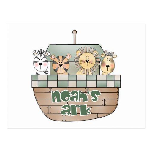Noah's Ark Post Card