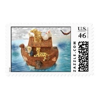 Noah's Ark Stamps
