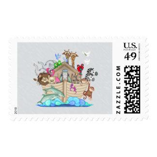 Noahs Ark Postage Stamp