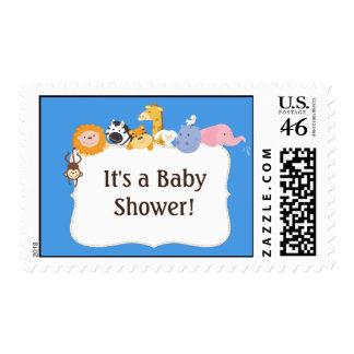 Noahs Ark Postage Stamps