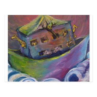 Noah's Ark Postcard