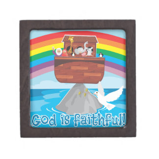 Noah's Ark Premium Jewelry Box