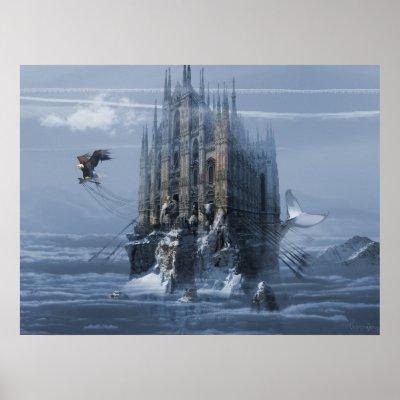 Favorite Surreal Posters - Noah's Ark Print