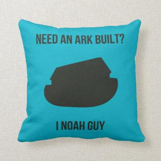 Noah's Ark Pun Pillows