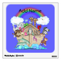 Noahs Ark Rainbow Wall Decal