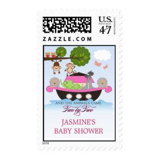 Noah's Ark Sets Sail Postage Stamp